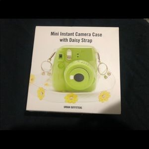 Urban Outfitters Instax Camera Case w/strap